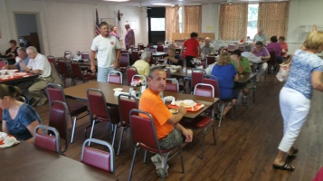 Lasagna Dinner Fundraiser, Trinity United Church of Christ, Tamaqua, 8-23-2015 (14)
