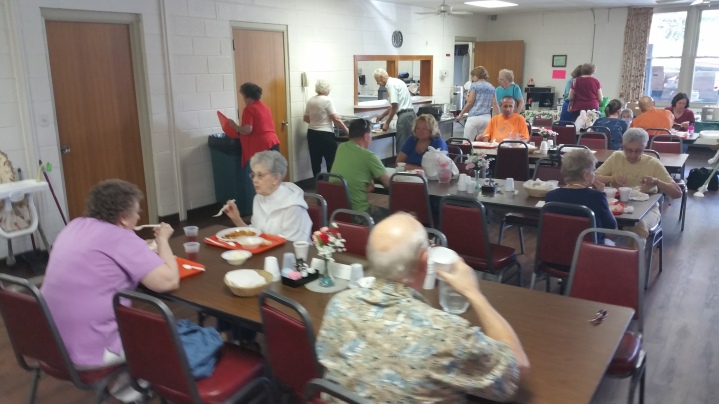 Lasagna Dinner Fundraiser, Trinity United Church of Christ, Tamaqua, 8-23-2015 (22)
