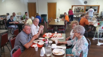Lasagna Dinner Fundraiser, Trinity United Church of Christ, Tamaqua, 8-23-2015 (3)