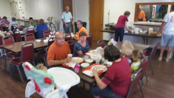 Lasagna Dinner Fundraiser, Trinity United Church of Christ, Tamaqua, 8-23-2015 (7)