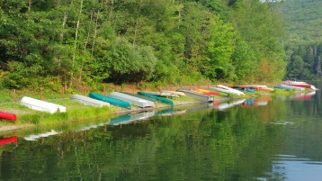 Loading Dock, Tuscarora State Park, Barnesville, 8-30-2015 (1)