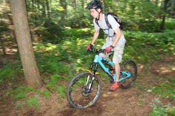 Making New Bicycle Trails, Owl Creek Reservoir, Tamaqua, 7-26-2015 (13)
