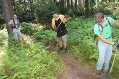 Making New Bicycle Trails, Owl Creek Reservoir, Tamaqua, 7-26-2015 (7)