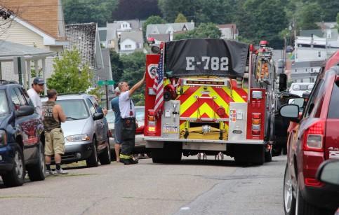 Man Dies, Truck, Clay Street, Tamaqua, 8-11-2015 (4)