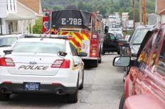 Man Dies, Truck, Clay Street, Tamaqua, 8-11-2015 (6)