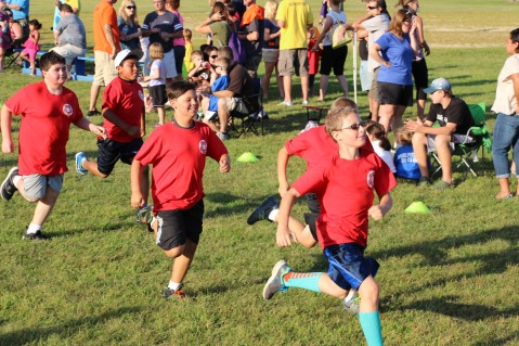 Meet the Tamaqua Youth Soccer Players, Tamaqua Elementary School, Tamaqua, 8-7-2015 (501)