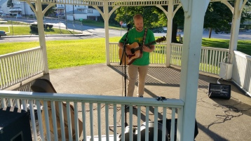 Music In The Park, Darren Frehulfer, via Lansford Alive, Kennedy Park, Lansford, 8-23-2015 (1)