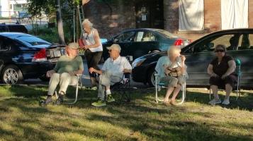 Music In The Park, Darren Frehulfer, via Lansford Alive, Kennedy Park, Lansford, 8-23-2015 (14)