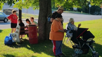 Music In The Park, Darren Frehulfer, via Lansford Alive, Kennedy Park, Lansford, 8-23-2015 (18)