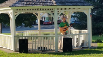 Music In The Park, Darren Frehulfer, via Lansford Alive, Kennedy Park, Lansford, 8-23-2015 (19)
