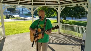 Music In The Park, Darren Frehulfer, via Lansford Alive, Kennedy Park, Lansford, 8-23-2015 (2)