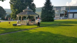 Music In The Park, Salvation Army performs, via Lansford Alive, Kennedy Park, Lansford (1)