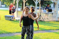 Music In The Park, Salvation Army performs, via Lansford Alive, Kennedy Park, Lansford (106)
