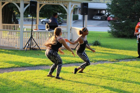 Music In The Park, Salvation Army performs, via Lansford Alive, Kennedy Park, Lansford (113)