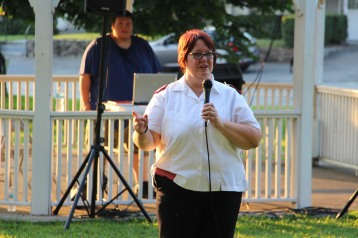Music In The Park, Salvation Army performs, via Lansford Alive, Kennedy Park, Lansford (134)