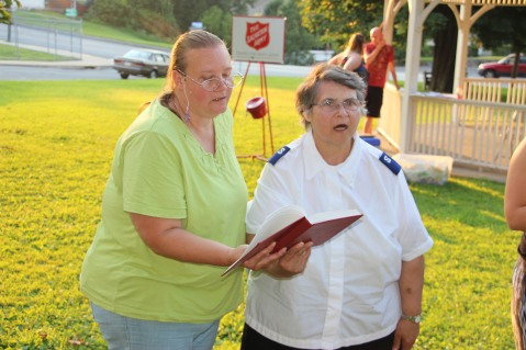 Music In The Park, Salvation Army performs, via Lansford Alive, Kennedy Park, Lansford (136)