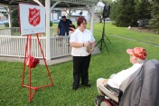 Music In The Park, Salvation Army performs, via Lansford Alive, Kennedy Park, Lansford (145)