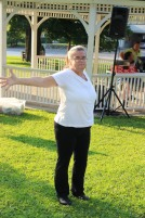 Music In The Park, Salvation Army performs, via Lansford Alive, Kennedy Park, Lansford (16)