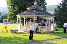 Music In The Park, Salvation Army performs, via Lansford Alive, Kennedy Park, Lansford (17)