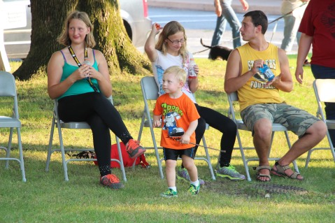 Music In The Park, Salvation Army performs, via Lansford Alive, Kennedy Park, Lansford (19)