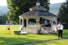 Music In The Park, Salvation Army performs, via Lansford Alive, Kennedy Park, Lansford (6)