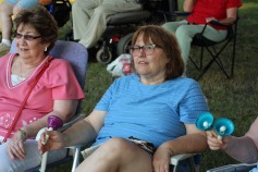 Music In The Park, Salvation Army performs, via Lansford Alive, Kennedy Park, Lansford (78)