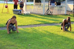 Music In The Park, Salvation Army performs, via Lansford Alive, Kennedy Park, Lansford (97)