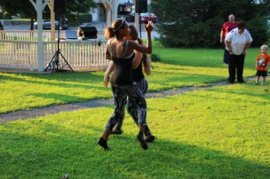 Music In The Park, Salvation Army performs, via Lansford Alive, Kennedy Park, Lansford (99)