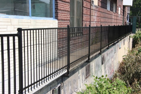 New Fence Along Little Schuylkill River, East Broad Street, Tamaqua2 (1)