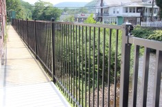 New Fence Along Little Schuylkill River, East Broad Street, Tamaqua2 (2)