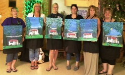 Paint & Sip, Creative Changes Center for Arts and Humanities, Brockton, 8-14-2015 (4)