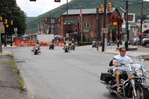 Poker Run, American Hose Block Party, American Hose Company, Tamaqua, 8-9-2015 (1)