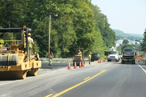 Pottsville Stretch Nearing Completion, US209, Schuylkill, Walker Township, 8-18-2015 (2)