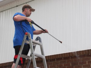 Power Washing, East End Fire Company, Tamaqua, 8-1-2015 (2)