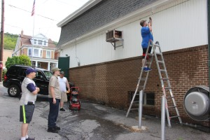 Power Washing, East End Fire Company, Tamaqua, 8-1-2015 (3)
