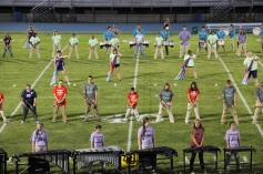 Raider Marching Band during Fall Meet The Raiders, TASD Sports Stadium, Tamaqua, 8-26-2015 (102)