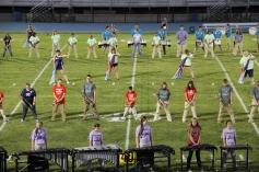 Raider Marching Band during Fall Meet The Raiders, TASD Sports Stadium, Tamaqua, 8-26-2015 (102)
