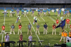 Raider Marching Band during Fall Meet The Raiders, TASD Sports Stadium, Tamaqua, 8-26-2015 (103)