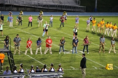 Raider Marching Band during Fall Meet The Raiders, TASD Sports Stadium, Tamaqua, 8-26-2015 (106)