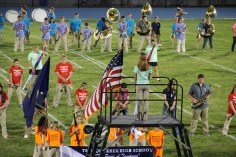 Raider Marching Band during Fall Meet The Raiders, TASD Sports Stadium, Tamaqua, 8-26-2015 (110)