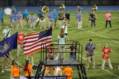 Raider Marching Band during Fall Meet The Raiders, TASD Sports Stadium, Tamaqua, 8-26-2015 (111)