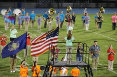 Raider Marching Band during Fall Meet The Raiders, TASD Sports Stadium, Tamaqua, 8-26-2015 (115)