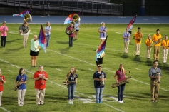 Raider Marching Band during Fall Meet The Raiders, TASD Sports Stadium, Tamaqua, 8-26-2015 (117)