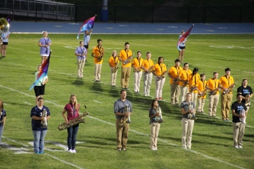 Raider Marching Band during Fall Meet The Raiders, TASD Sports Stadium, Tamaqua, 8-26-2015 (118)