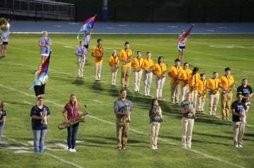 Raider Marching Band during Fall Meet The Raiders, TASD Sports Stadium, Tamaqua, 8-26-2015 (118)
