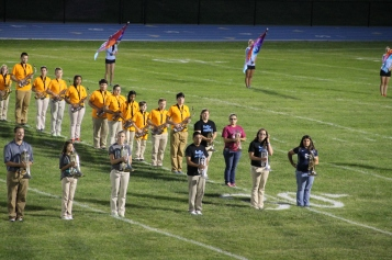 Raider Marching Band during Fall Meet The Raiders, TASD Sports Stadium, Tamaqua, 8-26-2015 (119)