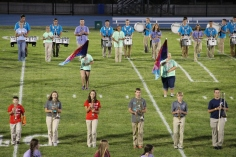 Raider Marching Band during Fall Meet The Raiders, TASD Sports Stadium, Tamaqua, 8-26-2015 (120)
