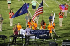 Raider Marching Band during Fall Meet The Raiders, TASD Sports Stadium, Tamaqua, 8-26-2015 (126)