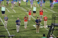 Raider Marching Band during Fall Meet The Raiders, TASD Sports Stadium, Tamaqua, 8-26-2015 (127)