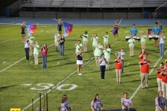 Raider Marching Band during Fall Meet The Raiders, TASD Sports Stadium, Tamaqua, 8-26-2015 (129)